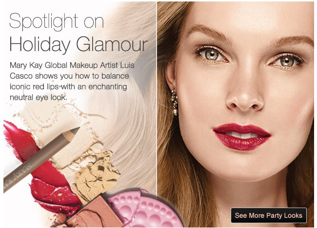 Mary Kay Get A Holiday Party Look From Our Makeup Pro