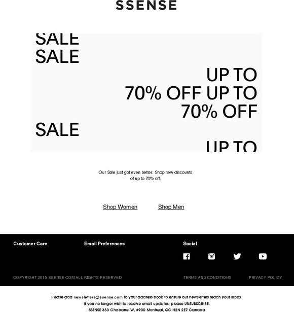 5d794a3da SSENSE  Sale  Now up to 70% off
