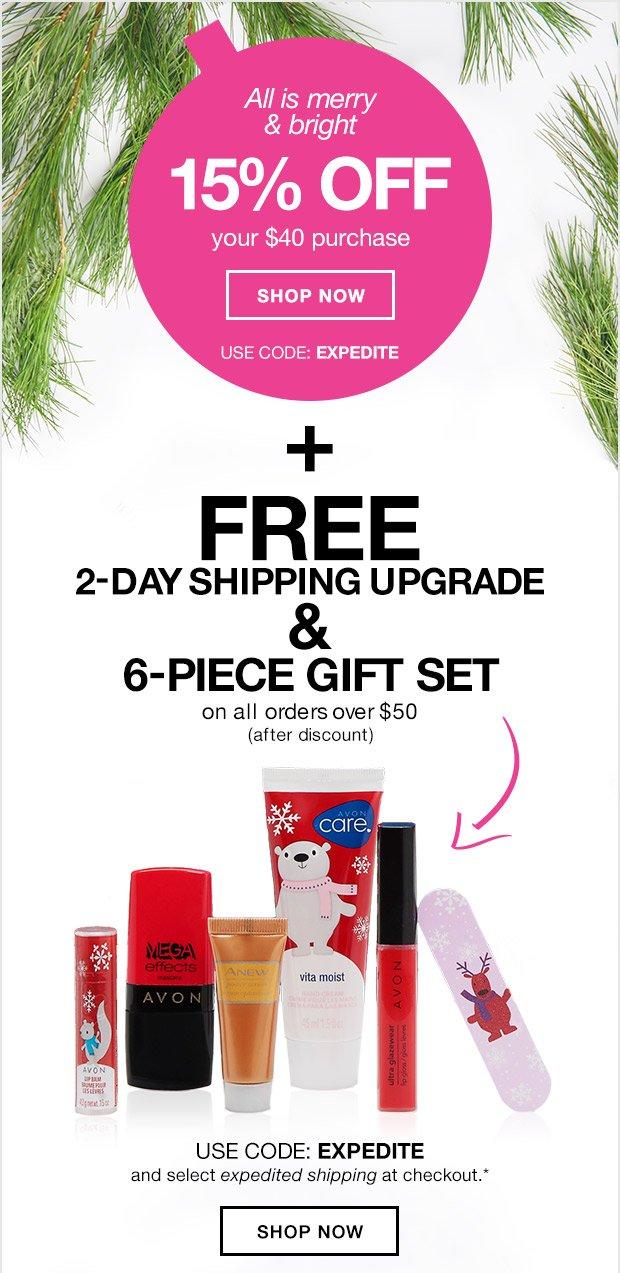 e96dda5c6 Avon  This is BIG  15% Off + FREE 2-Day Shipping   FREE Gift!