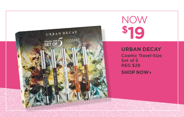 Urban Decay | Cosmic Travel Size Set of 5 Now $19