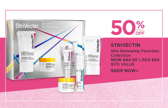 Strivectin | 50 Percent Off Skin Renewing Favorites Collection, Now $44.50