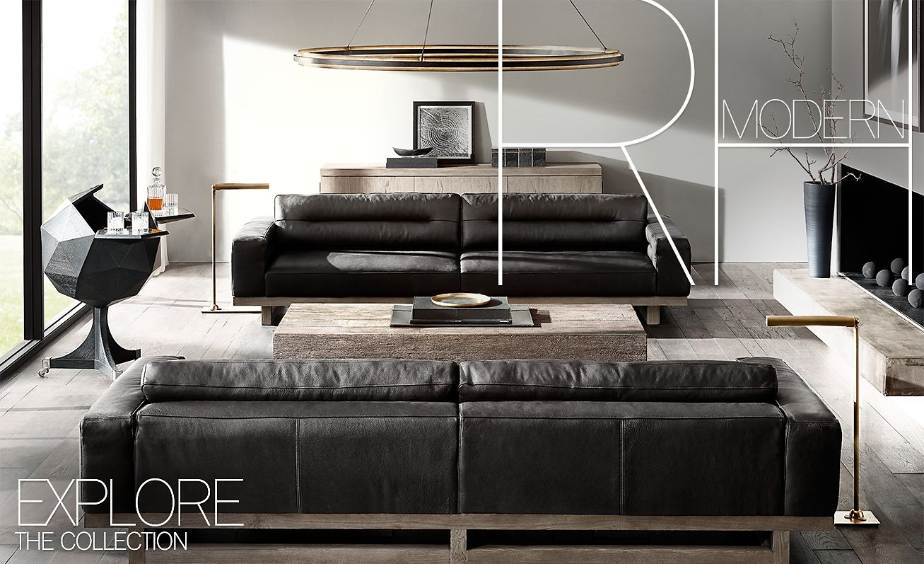 restoration hardware rh modern a curated collection of. Black Bedroom Furniture Sets. Home Design Ideas