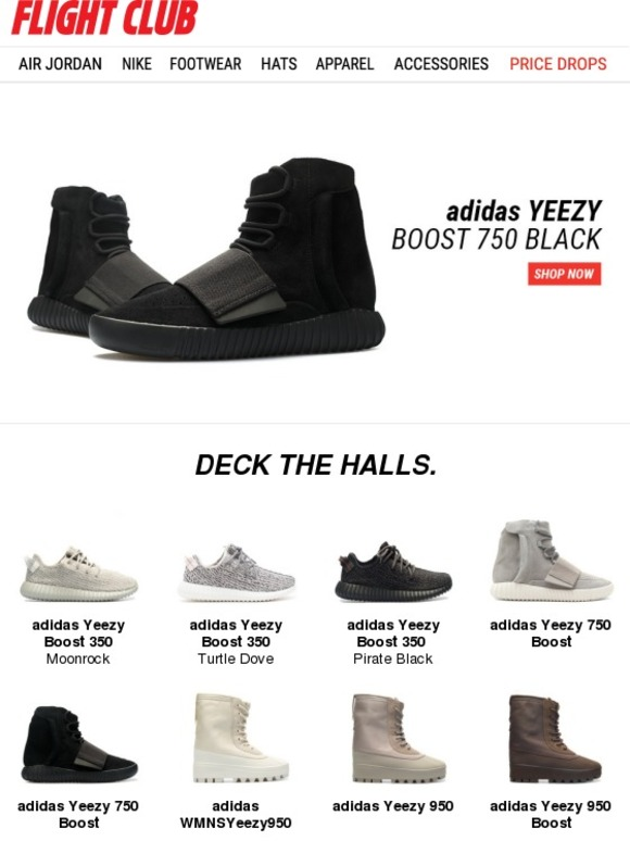 adidas Yeezy 750 Boost Black and more