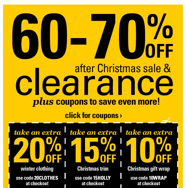 If you are on a budget your first stop at Michaels should always be the clearance section. You can score up to 90% off regular prices on a variety of items like beads, books, buttons and more. If you are lucky and buy at the right time you can pair a Michaels coupon code with your clearance .