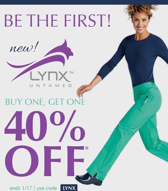 e51b77bf504 Scrubs & Beyond: Introducing new Lynx Untamed - BOGO 40%   Milled