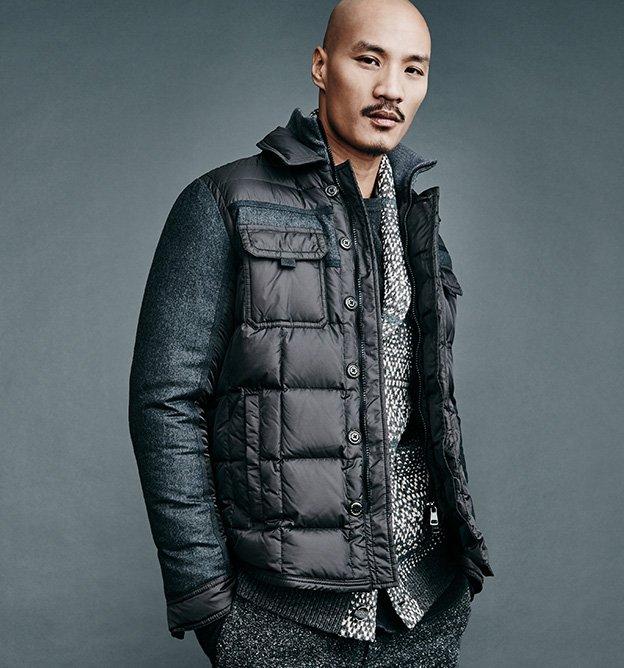 moncler jacket gilt