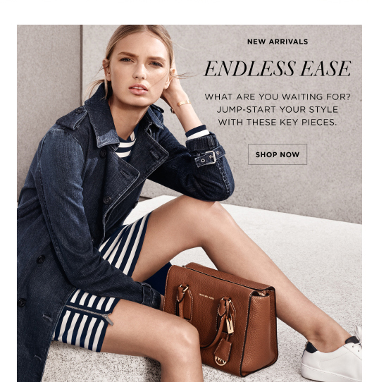 Michael Kors Introducing The Selby Bag Milled