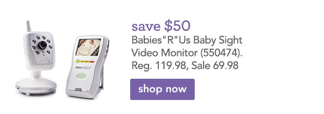 babies r us save on carter 39 s graco baby sight video monitor more milled. Black Bedroom Furniture Sets. Home Design Ideas