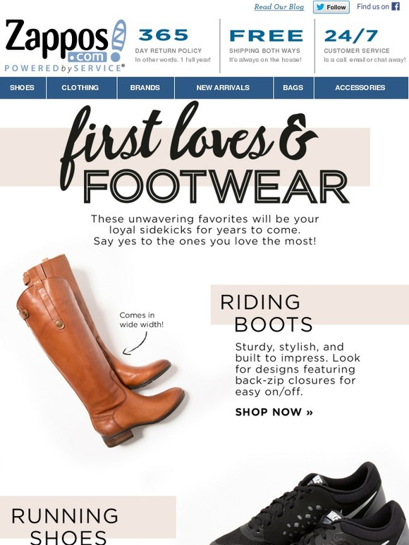 Shoe Clothing Brands at Zapposcom  Zapposcom