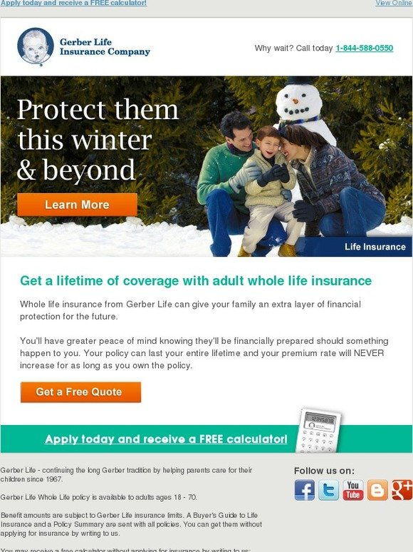 Gerber Life Insurance: Get a lifetime of coverage with ...