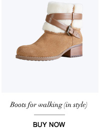 Boots for walking (in style)