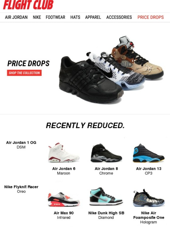 quality design 595f3 1d8e6 Flight Club New York: This Week's Deals: Air Jordan 5 ...