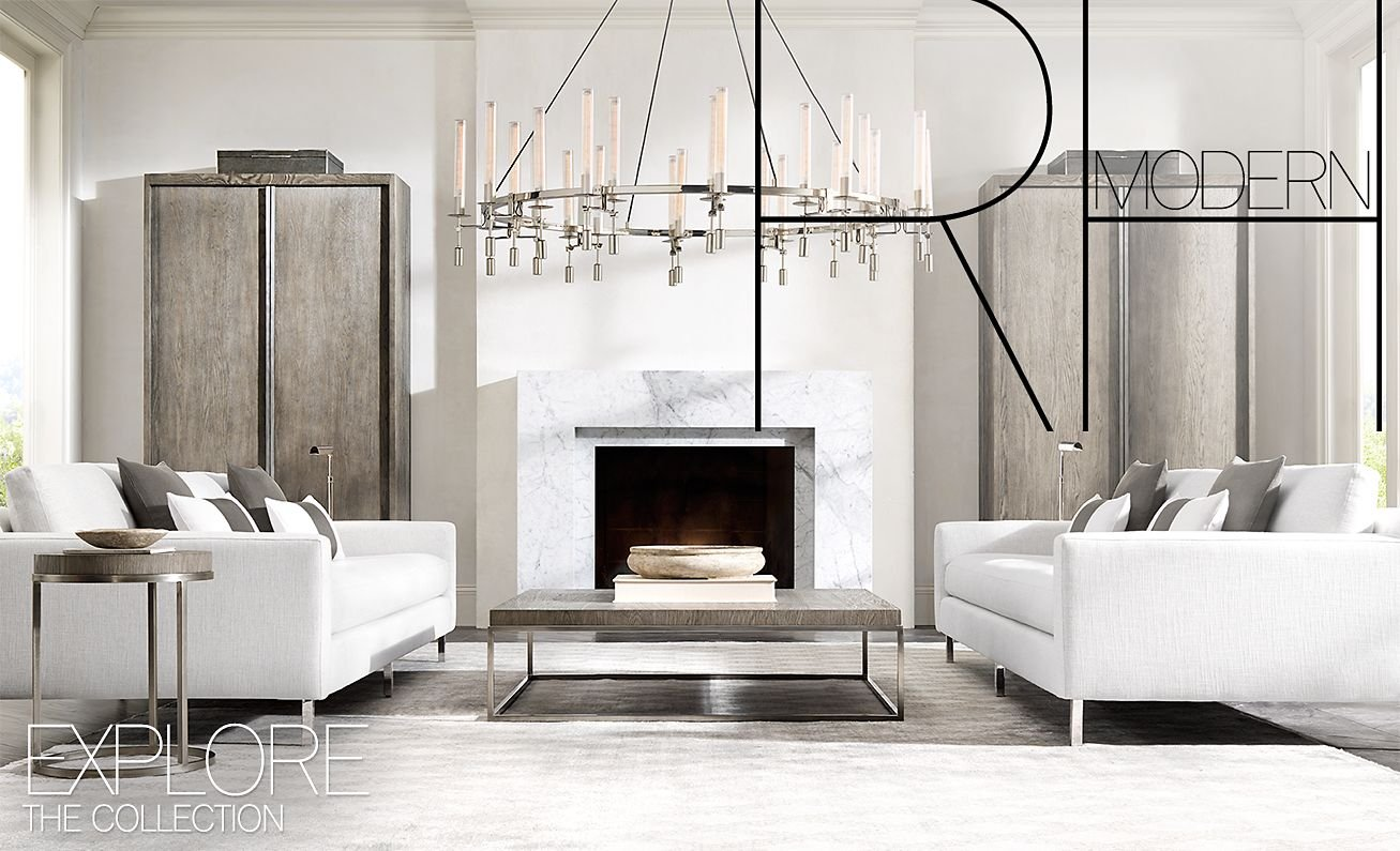 Restoration Hardware For The Modern Lifestyle Experience Rh Modern Milled