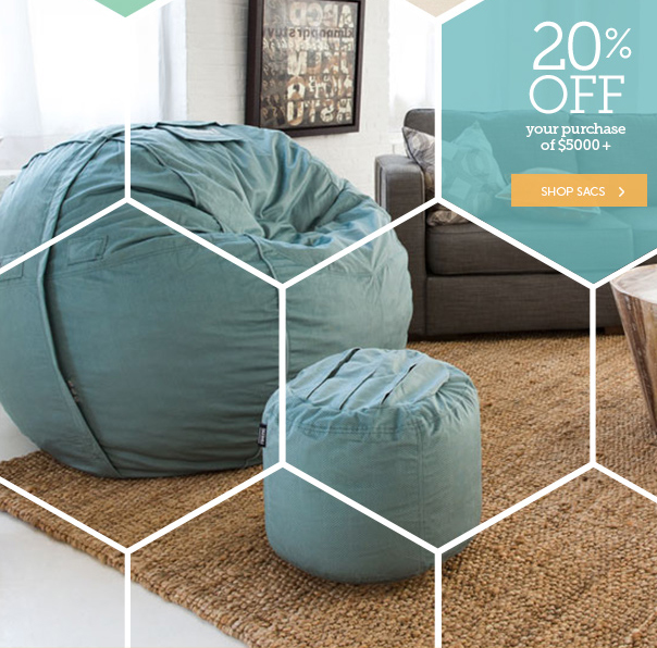 LoveSac: Great Save! Up To 20% Off.