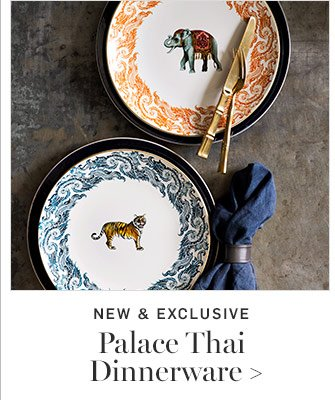 NEW \u0026 EXCLUSIVE - Palace Thai Dinnerware ...  sc 1 st  Milled & Williams-Sonoma: NEW! Entertain in Thai-Style + Extra 30% Off ...