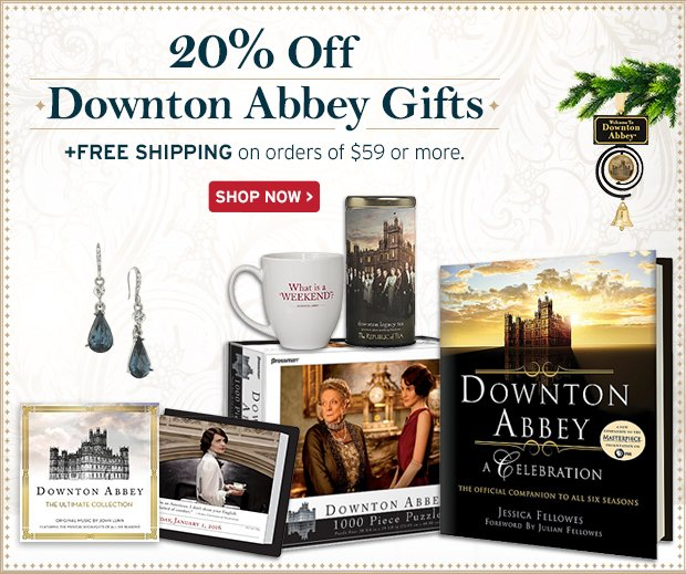 20% Off | Downton Abbey Gifts | +Free Shipping on orders of $59 or