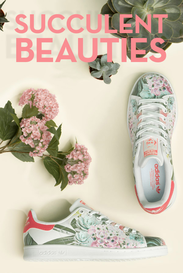 Schuh The Exclusive Stan Smith Floral Milled