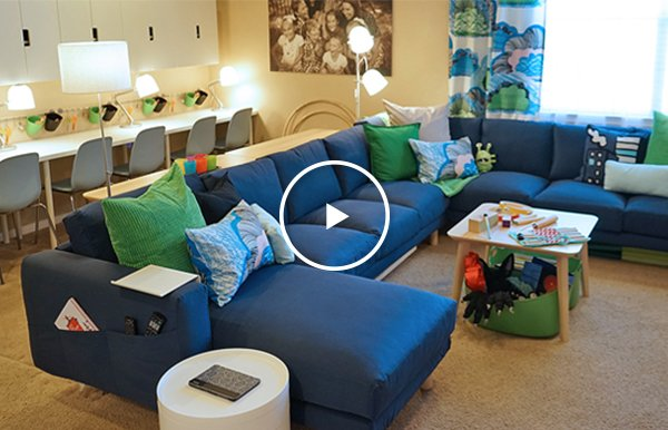 Ikea watch the new ikea home tour makeovers now milled for Ikea cyber monday 2016