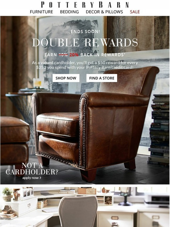 Pottery Barn Double Rewards Is Yours For The Taking