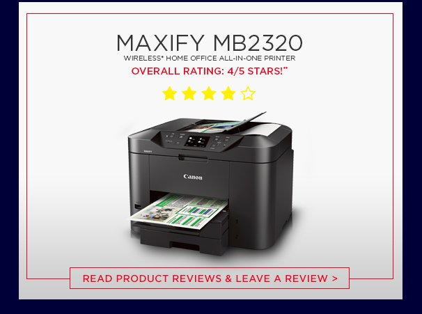 Canon Usa Show Some Maxify Love Milled