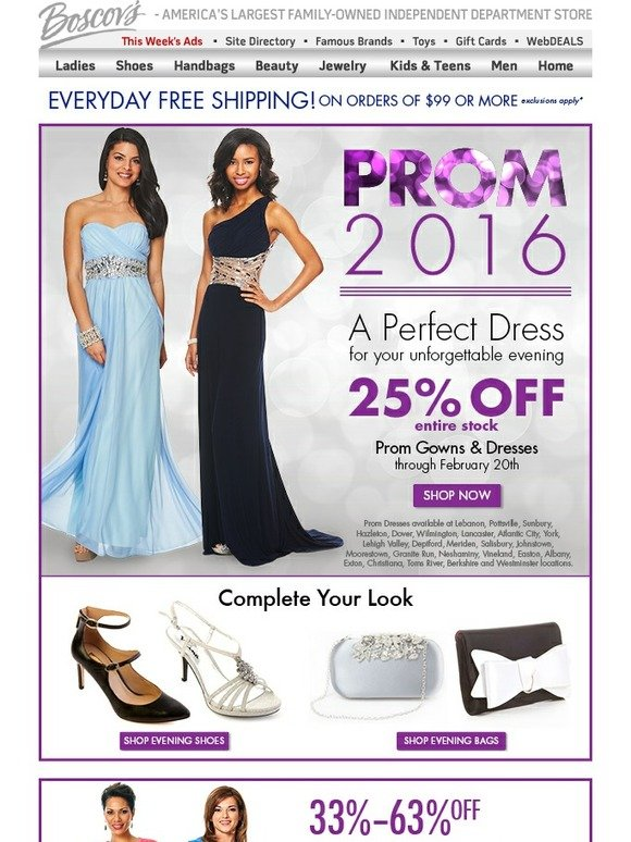 Boscov\'s: New Spring Collection Sale plus Save 25% on our Entire ...
