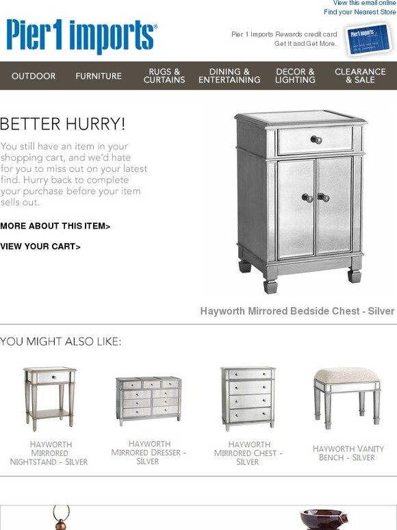 Hayworth Bedside Chest
