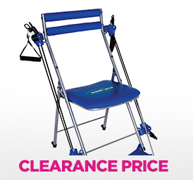 chair gym with twister
