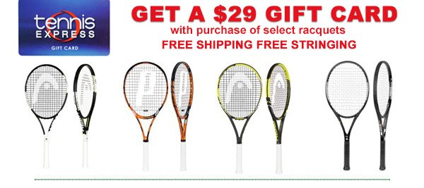Tennis Express Leap Year Deals Free 29 Gift Cards Extra 20 Off