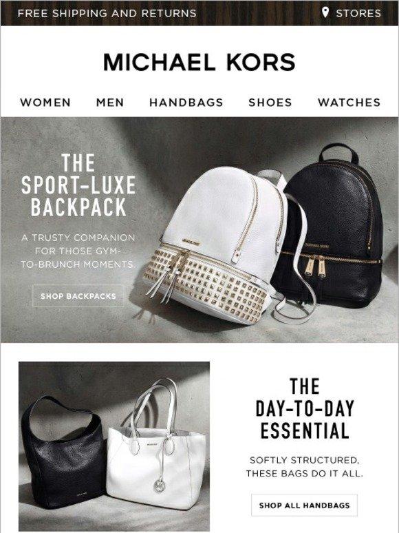 Michael Kors The Spring Handbag Roundup Milled