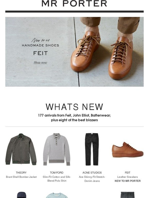 Mr Porter: Start the month right   Milled
