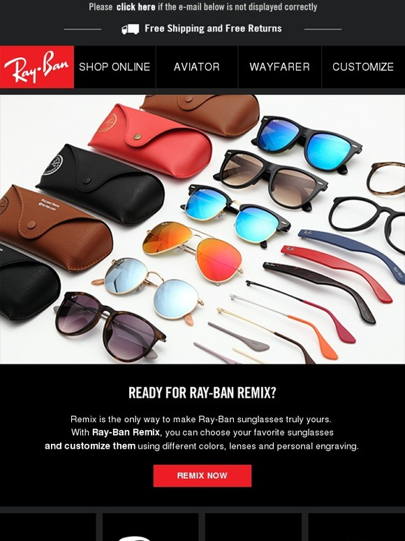 5f68f7380cf Persol  Your personalized Ray-Ban are here  ready