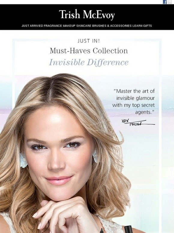 Trish Mcevoy: New Must-Haves Collection Invisible