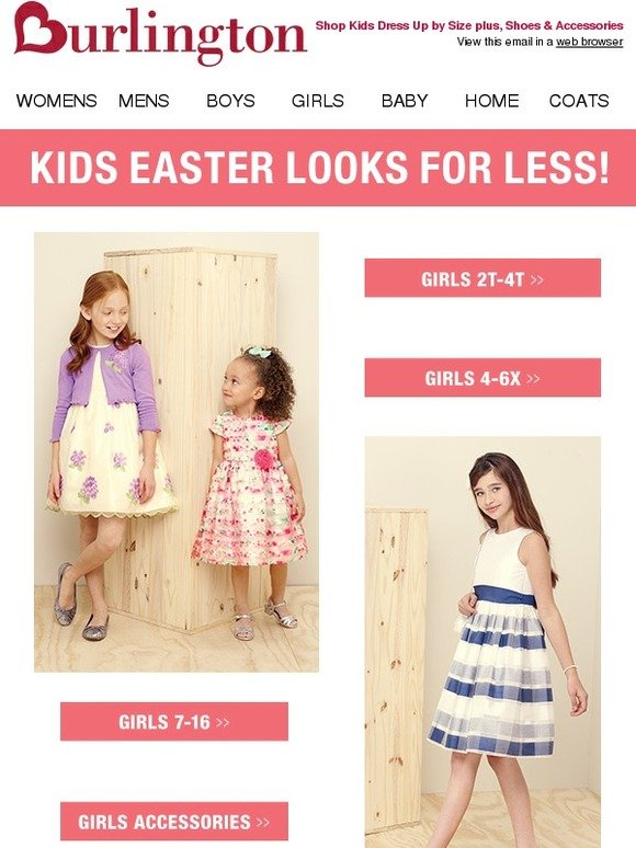 Plus easter dress up for kids