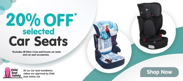 Smyths Toys Hq 20 Off Selected Car Seats Plus Free Baby