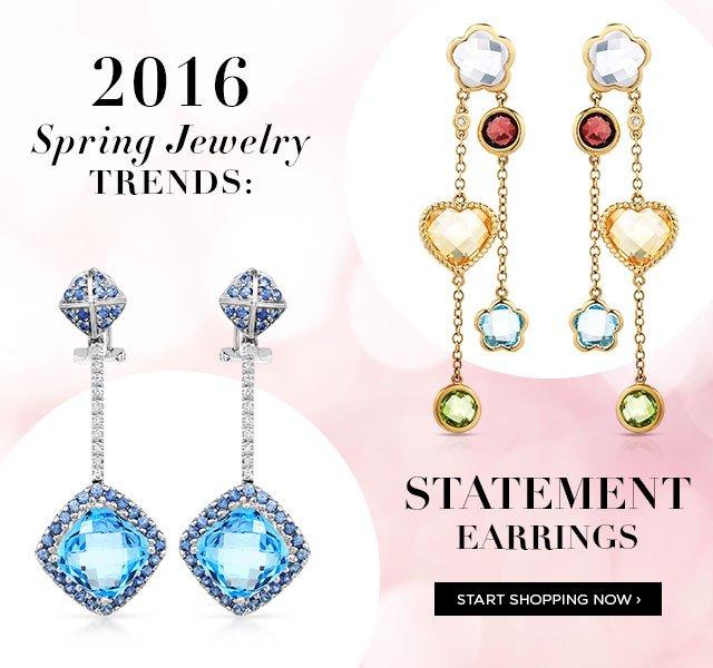 Bidz US: 2016 Spring Jewelry Trends: Statement Earrings ...