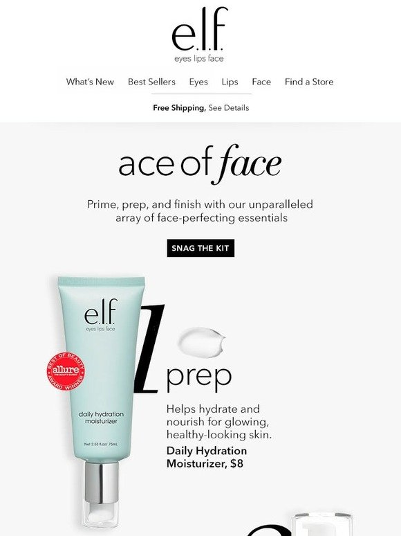 Elf Cosmetics: Ace of face | Milled