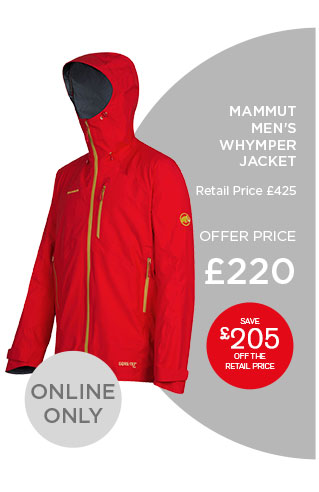 Mammut women's whymper jacket