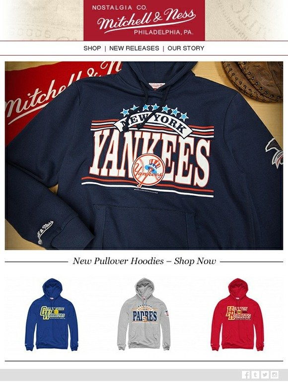 a347c333 Mitchell & Ness: New MLB and NBA Fleece Hoodies from Mitchell & Ness ...