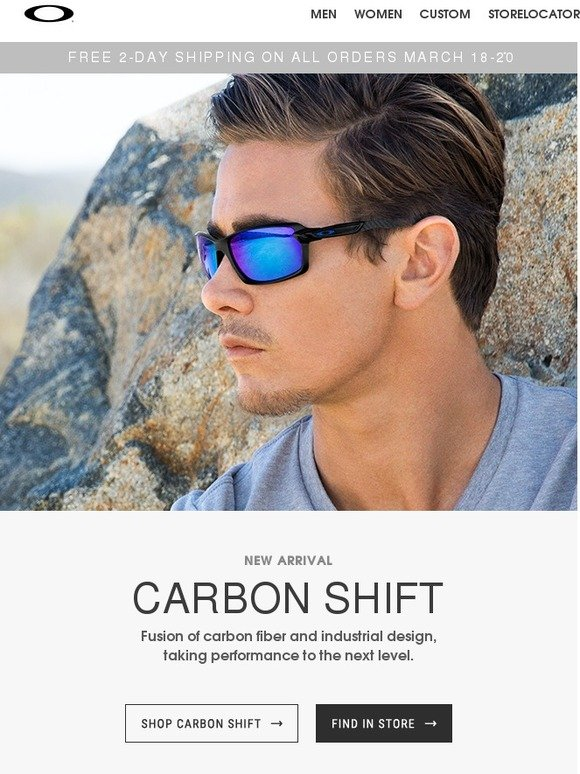 oakley shift