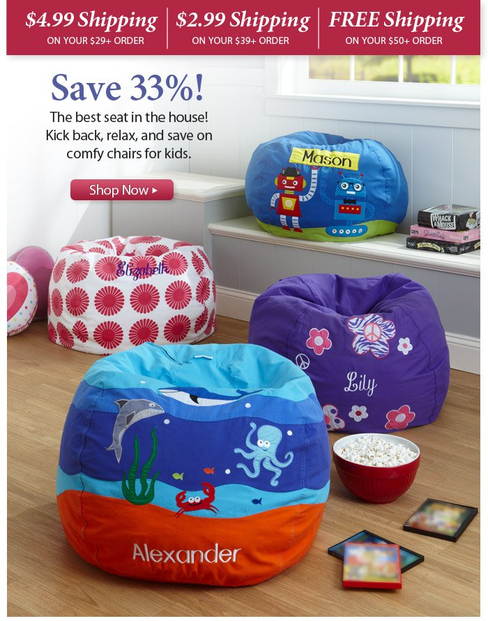 Fine Lillian Vernon Save Some Beans On Kids Bean Bags Plus Free Caraccident5 Cool Chair Designs And Ideas Caraccident5Info