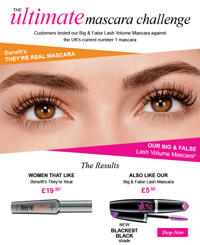 Avon UK: If you like Benefit They're Real Mascara you'll like this ...