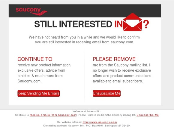 Interested we email not are Six Ways