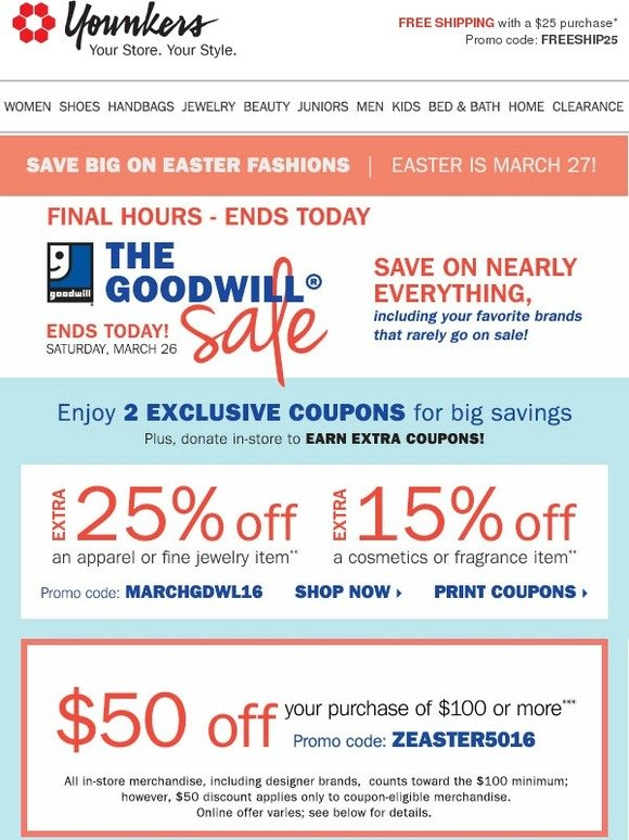1e3f7f66016 Younkers  Final Hours! Goodwill Savings