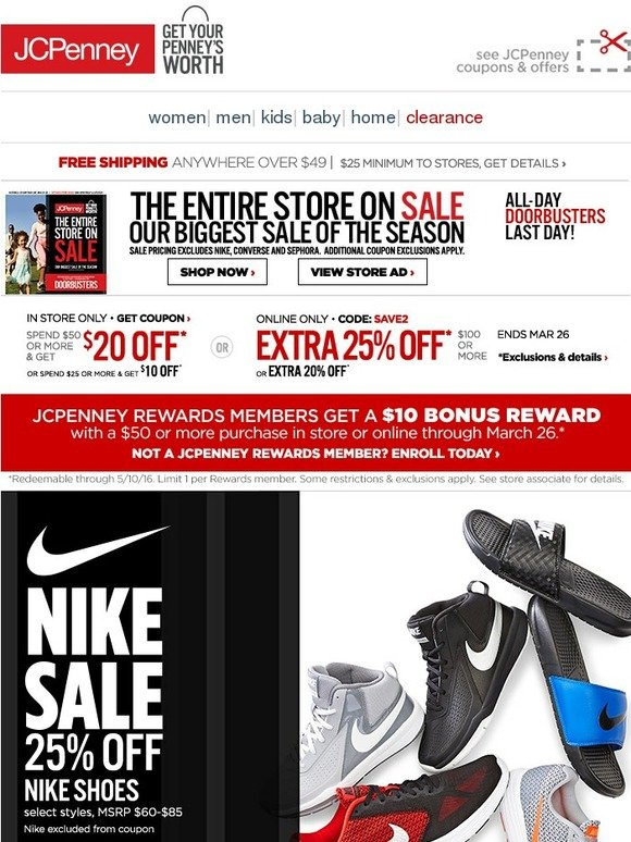 75f7c7684f58 nike for women in jcpenney store hours today Dominate the game with LeBron  James shoes.
