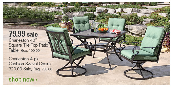 shopko up to 20 off patio furniture sit pretty this summer rh milled com shopko patio furniture sets Shopko Patio Gliders Sale