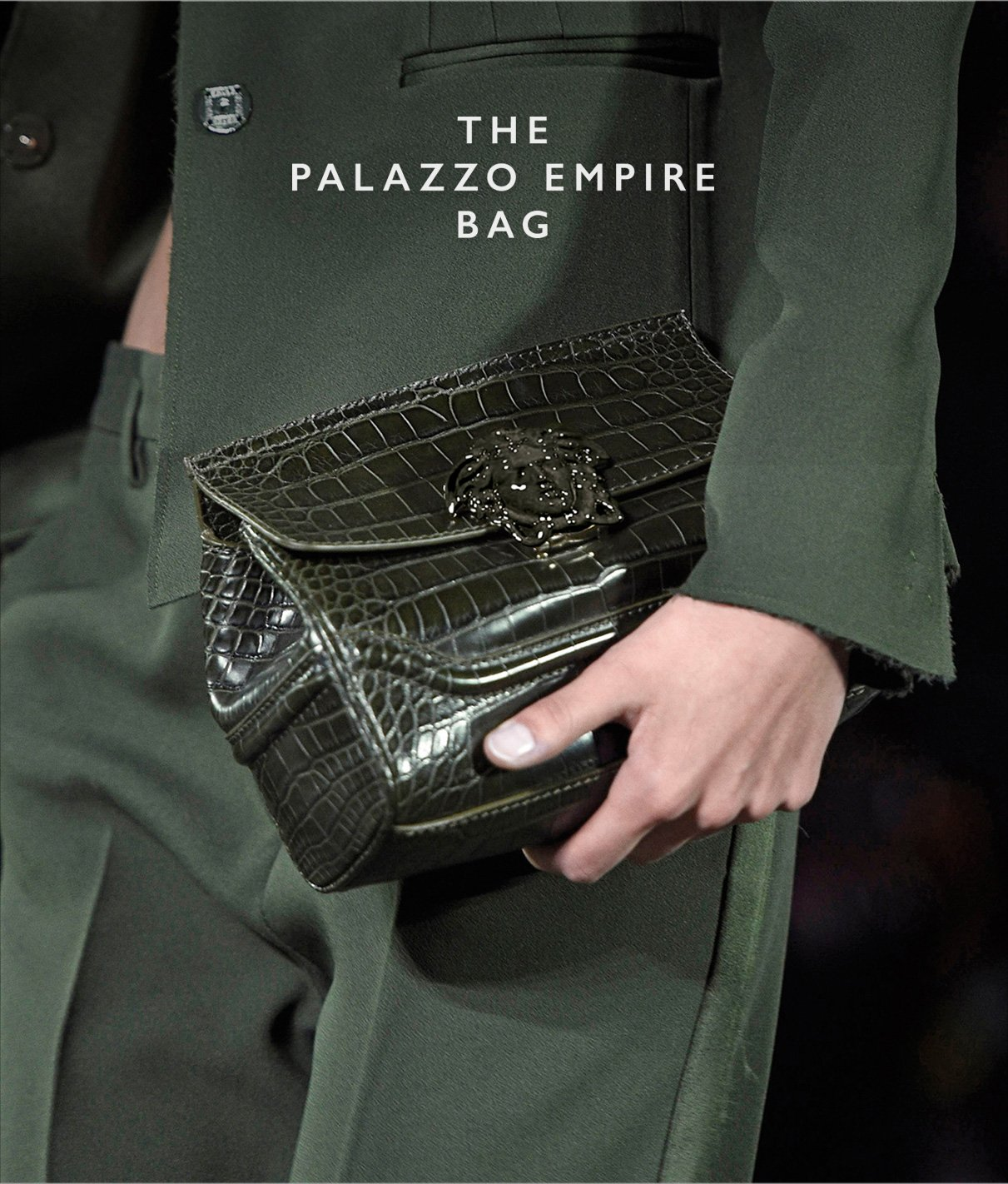 "1130035d0de5 Official Versace  The crocodile leather ""Palazzo Empire""- more ..."