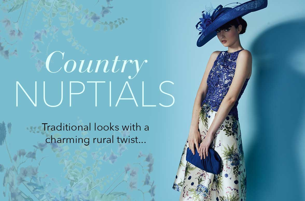 Debenhams Wedding Gift List Login : Country Nuptials - Traditional looks with a charming rural twist...