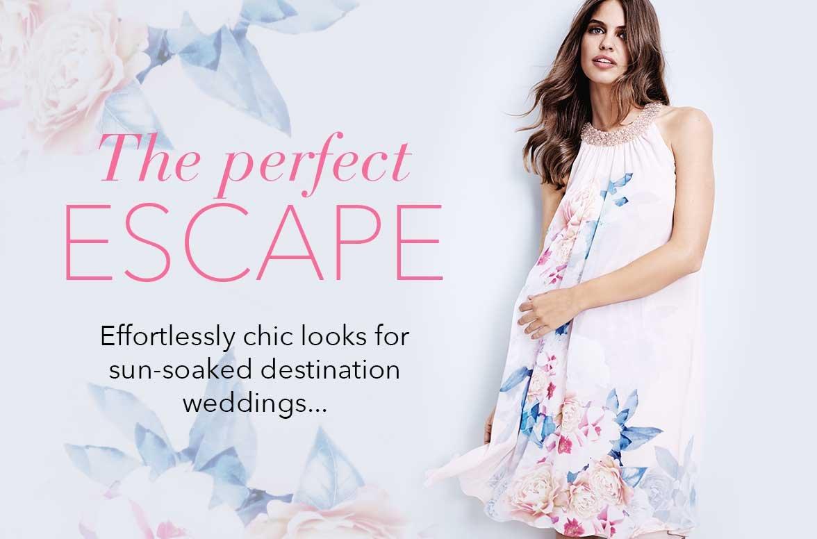 Debenhams Wedding Gift List Login : ... - Effortlessly chic looks for sun-soaked destination weddings