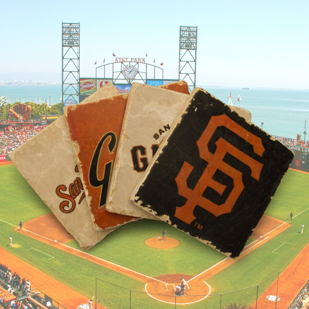 San Francisco, SF, Giants, Coasters, Drinks, Upper Playground, Baseball, MLB