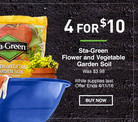 Lowes spring black friday ends tomorrow milled for Sta green garden soil